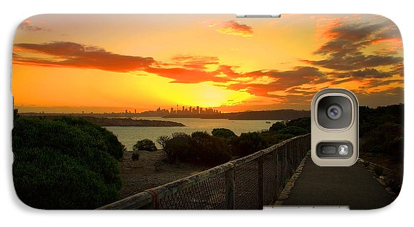 Galaxy S7 Case featuring the photograph While You Walk by Miroslava Jurcik