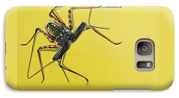 Galaxy Case featuring the painting Whip Scorpion by Jude Labuszewski