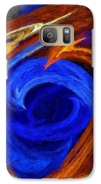Galaxy Case featuring the digital art Whirlpool Abstract by Andee Design