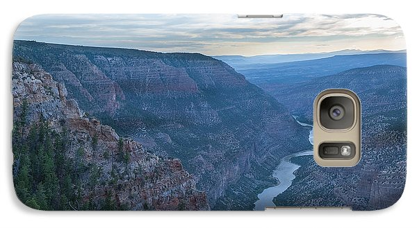 Galaxy Case featuring the photograph Whirlpool Canyon by Joshua House