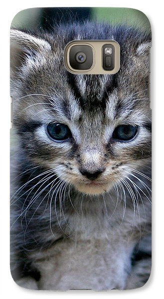 Galaxy Case featuring the photograph Whiskers by Cathy Harper