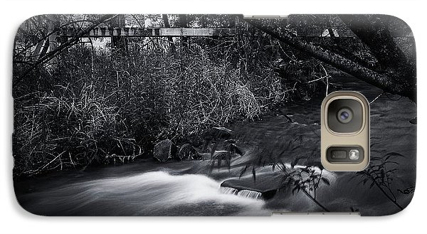 Galaxy Case featuring the photograph Whispering Brooke by Tim Nichols