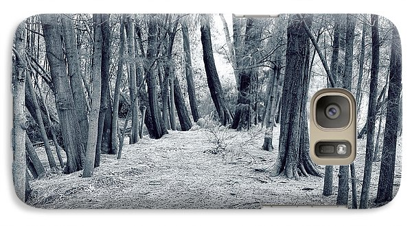 Galaxy Case featuring the photograph Whispering Forest by Wayne Sherriff