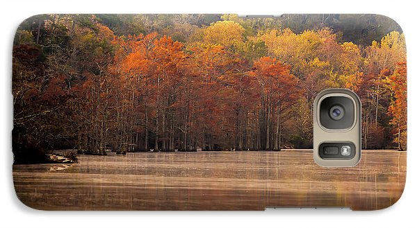 Galaxy Case featuring the photograph Whispering Mist by Iris Greenwell