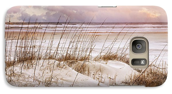 Galaxy Case featuring the photograph Whispers In The Dunes by Debra and Dave Vanderlaan