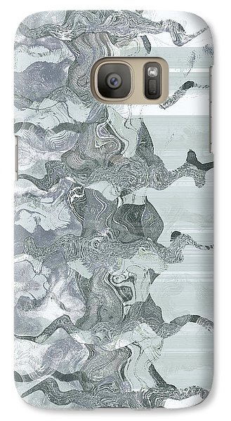 Galaxy Case featuring the digital art Whispers In The Fog by Wendy J St Christopher