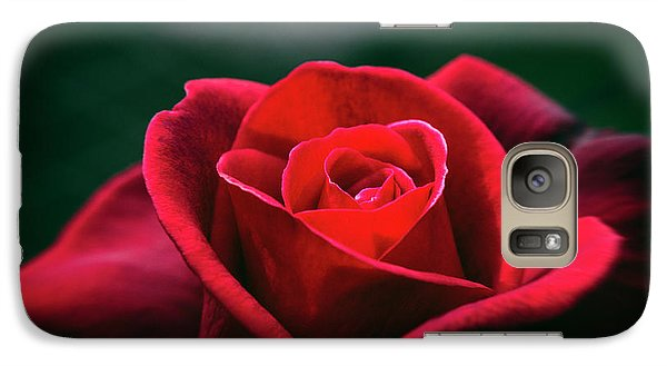 Galaxy Case featuring the photograph Whispers Of Passion by Linda Lees