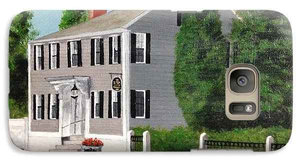Galaxy Case featuring the painting Whistler House by Cynthia Morgan