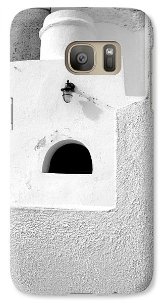 Galaxy Case featuring the photograph White Abstract by Ana Maria Edulescu