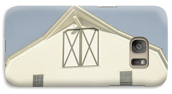 Galaxy Case featuring the photograph White Barn South Woodstock Vermont by Edward Fielding