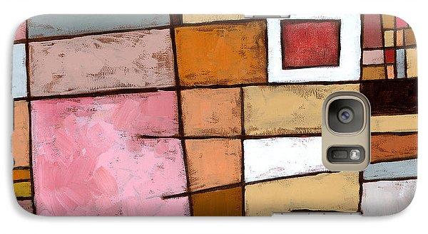 Abstract Galaxy S7 Case - White Chocolate by Douglas Simonson
