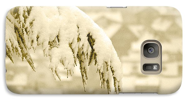 Galaxy Case featuring the photograph White Christmas - Winter In Switzerland by Susanne Van Hulst