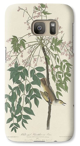 Flycatcher Galaxy S7 Case - White-eyed Flycatcher by Dreyer Wildlife Print Collections