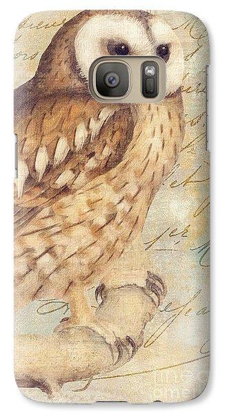 White Faced Owl Galaxy S7 Case