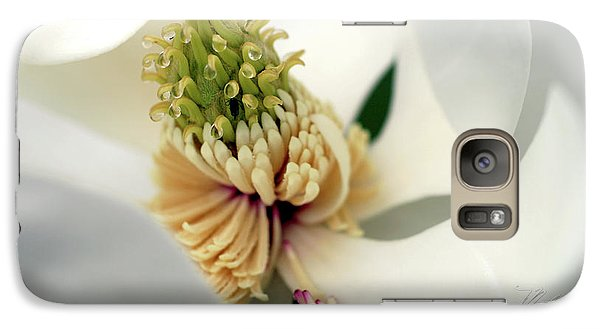 Galaxy Case featuring the photograph Magnolia Blossom by Meta Gatschenberger