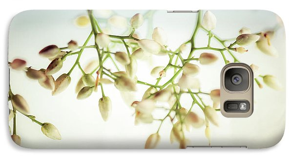 Galaxy Case featuring the photograph White Flowers by Bobby Villapando
