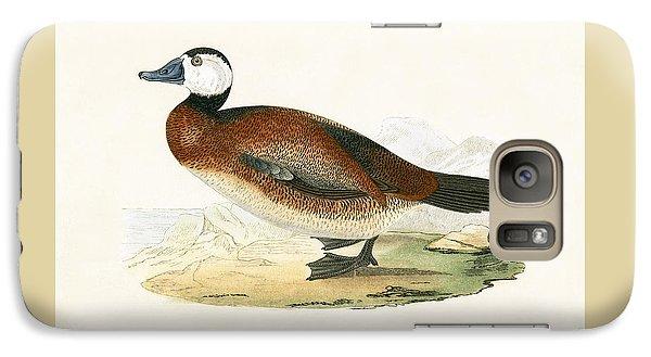 White Headed Duck Galaxy S7 Case