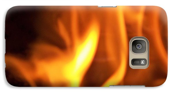 Galaxy Case featuring the photograph White Hot by Betty Northcutt