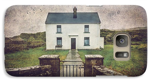 Galaxy Case featuring the photograph White House Of Aran Island I by Craig J Satterlee