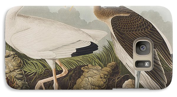 White Ibis Galaxy S7 Case by John James Audubon