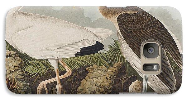 White Ibis Galaxy Case by John James Audubon