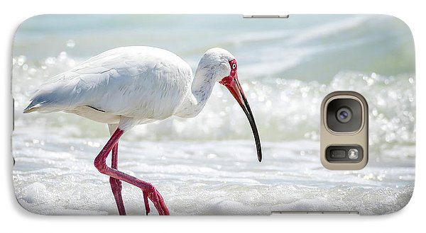 Ibis Galaxy S7 Case - White Ibis by Michael Weber