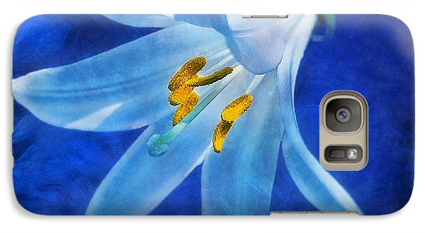 Galaxy Case featuring the digital art White Lilly by Ian Mitchell