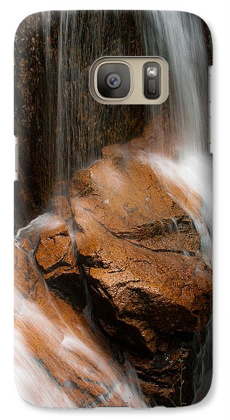 Galaxy Case featuring the photograph White Mountains Waterfall by Jason Moynihan