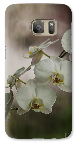 Orchid Galaxy S7 Case - White Of The Evening by Mike Reid