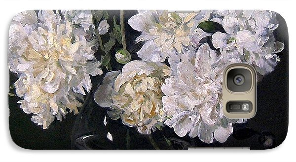 White Peonies Are Ready To Explode Galaxy S7 Case