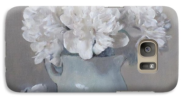 Gray Day For White Peonies Galaxy S7 Case