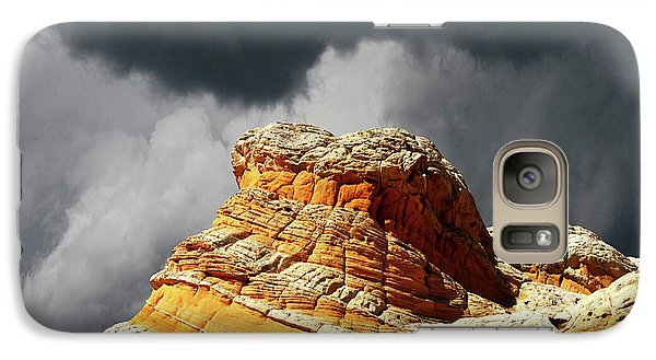 Galaxy Case featuring the photograph White Pocket 35 by Bob Christopher