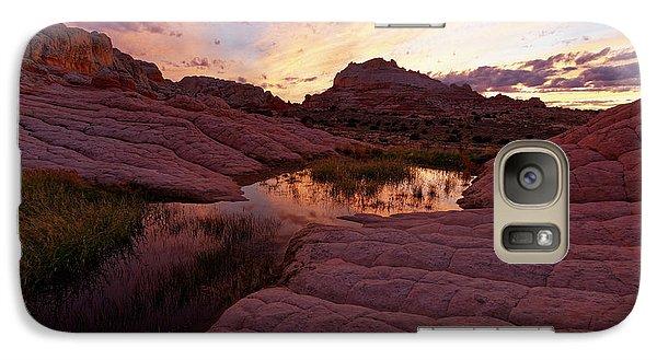 Galaxy Case featuring the photograph White Pocket Sunset by Jonathan Davison