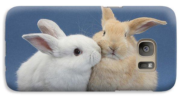 White Rabbit And Sandy Rabbit Galaxy S7 Case