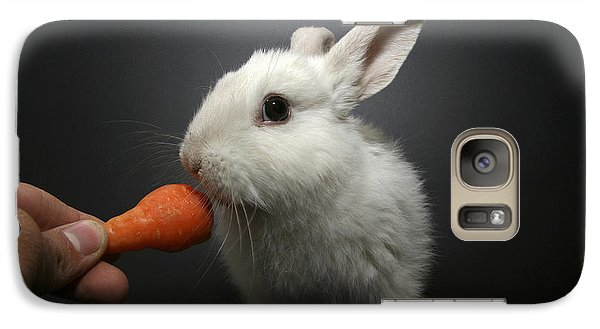 White Rabbit  Galaxy Case by Yedidya yos mizrachi