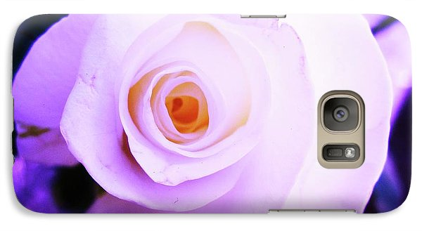 Galaxy Case featuring the photograph White Rose by Mary Ellen Frazee