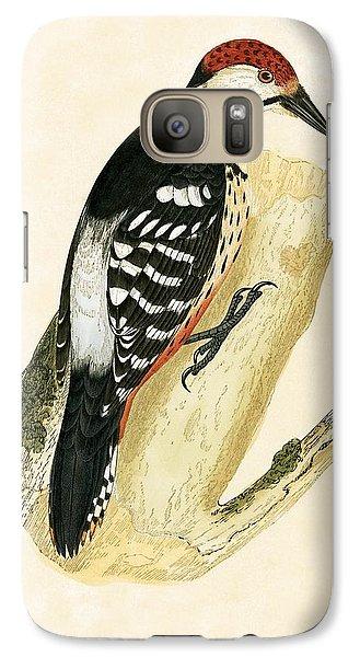 White Rumped Woodpecker Galaxy S7 Case