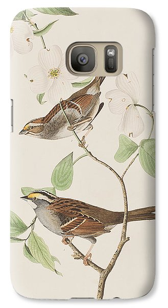 White Throated Sparrow Galaxy S7 Case