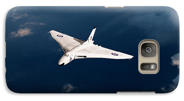 Galaxy Case featuring the digital art White Vulcan B1 At Altitude by Gary Eason