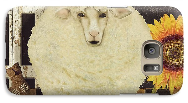 White Wool Farms Galaxy S7 Case