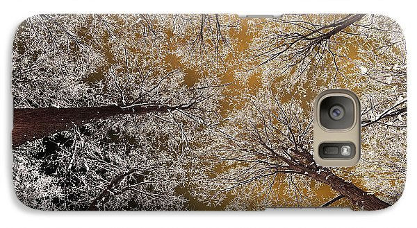 Galaxy Case featuring the photograph Whiteout by Tony Beck