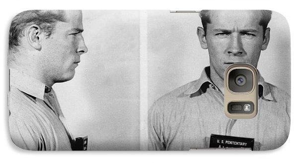 Whitey Bulger Mug Shot Galaxy Case by Edward Fielding