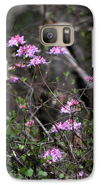 Galaxy Case featuring the photograph Who Put The Wild In Wildflowers by Skip Willits