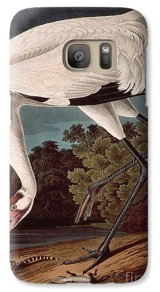 Crane Galaxy S7 Case - Whooping Crane by John James Audubon