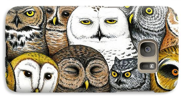 Who's Hoo Galaxy Case by Don McMahon