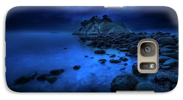 Galaxy Case featuring the photograph Whytecliff Dusk by John Poon