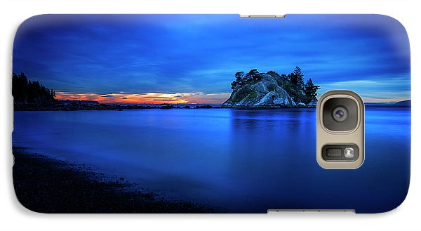 Galaxy Case featuring the photograph Whytecliff Sunset by John Poon