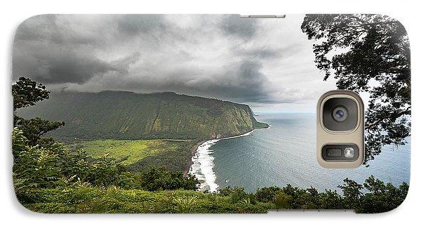 Galaxy Case featuring the photograph Wiapio Valley by Allen Biedrzycki