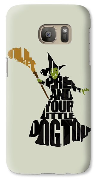 Wicked Witch Of The West Galaxy S7 Case
