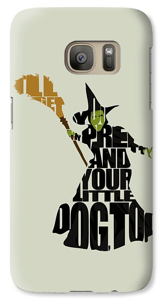 Wizard Galaxy S7 Case - Wicked Witch Of The West by Inspirowl Design